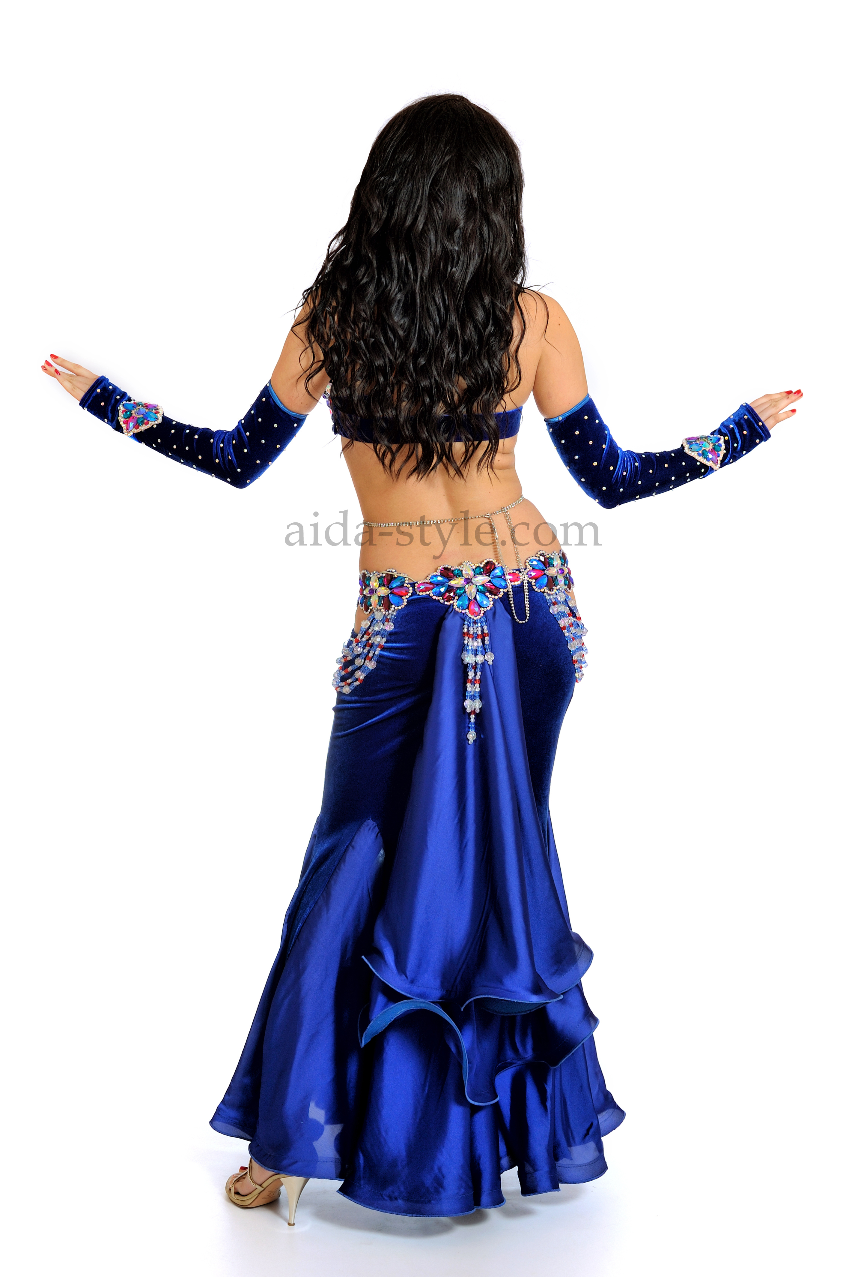 Classic Belly Dance Costume