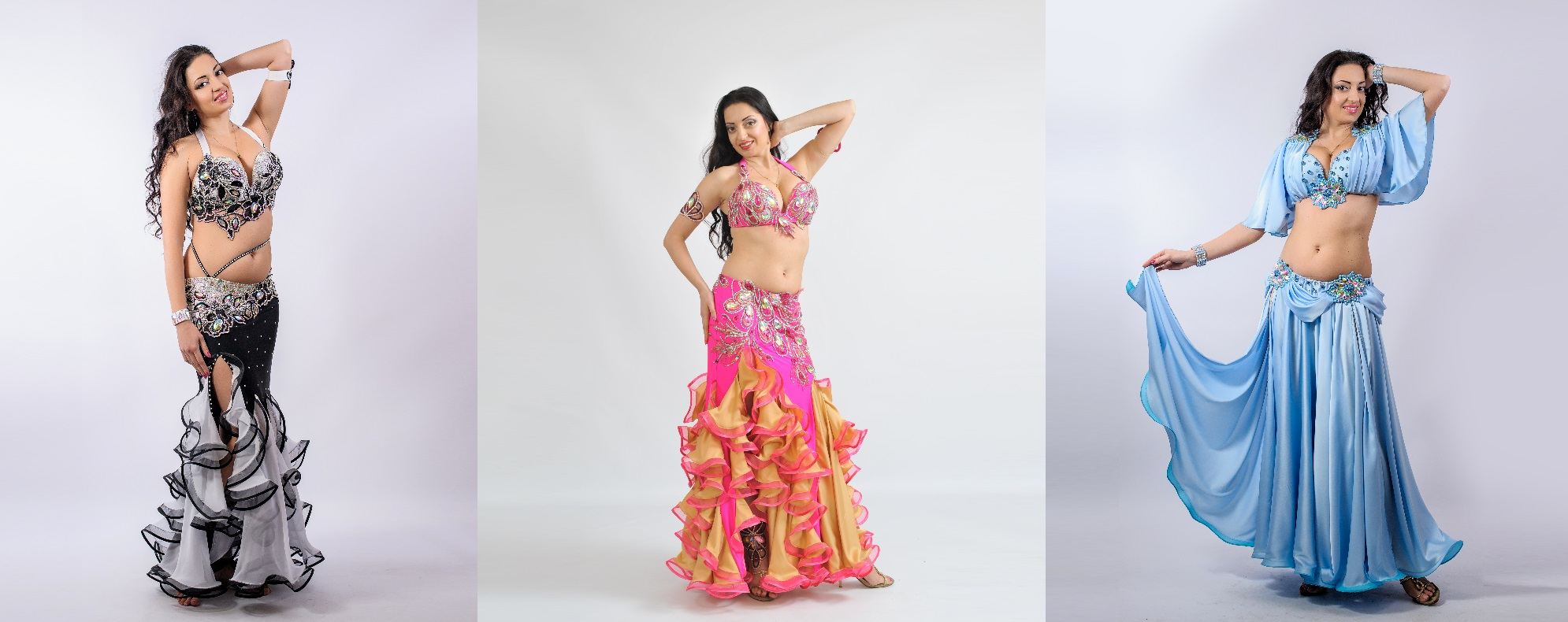 Classicc Collection Aida Style Belly Dance Costumes