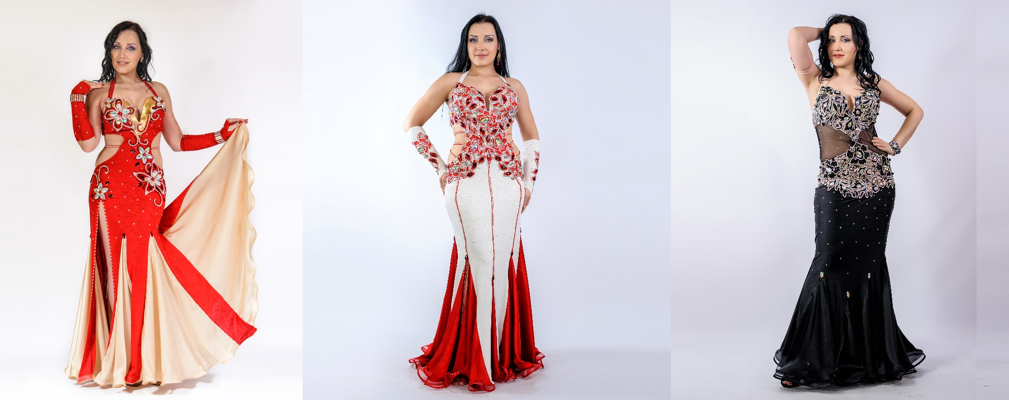 One Piece Aida Style Belly Dance Collection