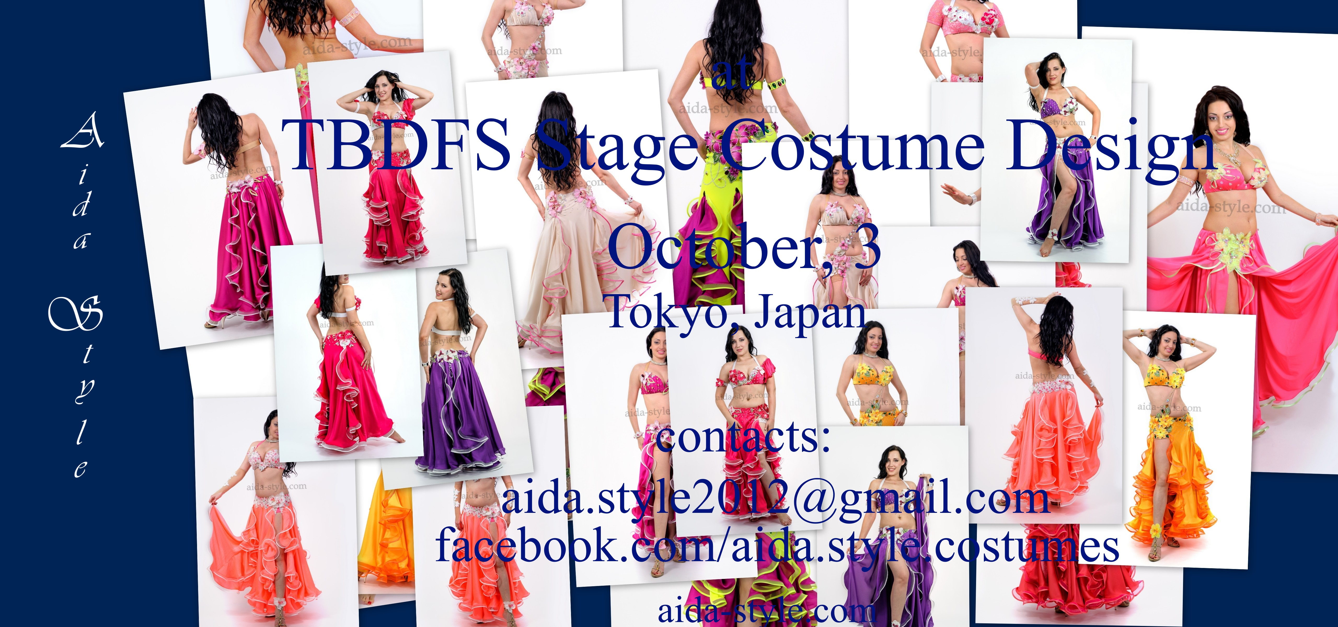 Aida Style at TBDFS Stage Costume Design 2015