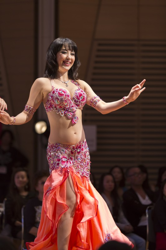 TBDFS Tokyo Stage Design in Japan, October 2015. Belly dance costumes by Aida Style