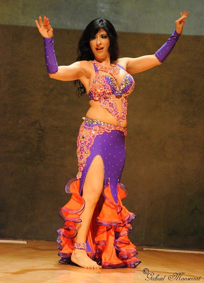 Virginia Mendez. Costume by Olga Aida