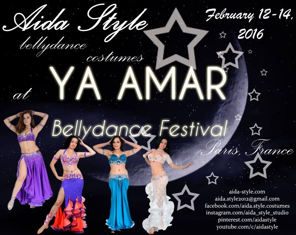 Aida Style at YA AMAR Bellydance Festival in Paris 2016