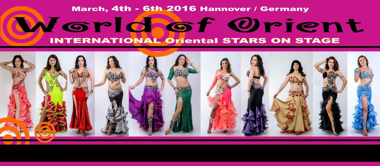 Aida Style costumes, World of Orient, Hannover, Germany, March 4-6, 2016