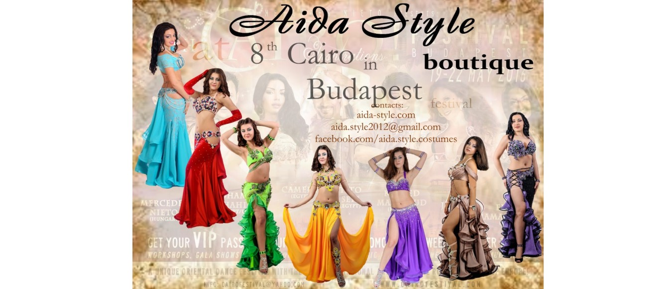 Aida Style boutique at Cairo in Budapest 2016