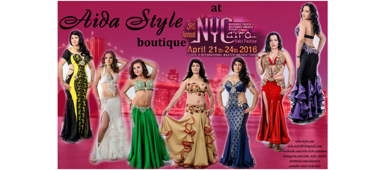 Aida Style boutique at NYCairo 2016