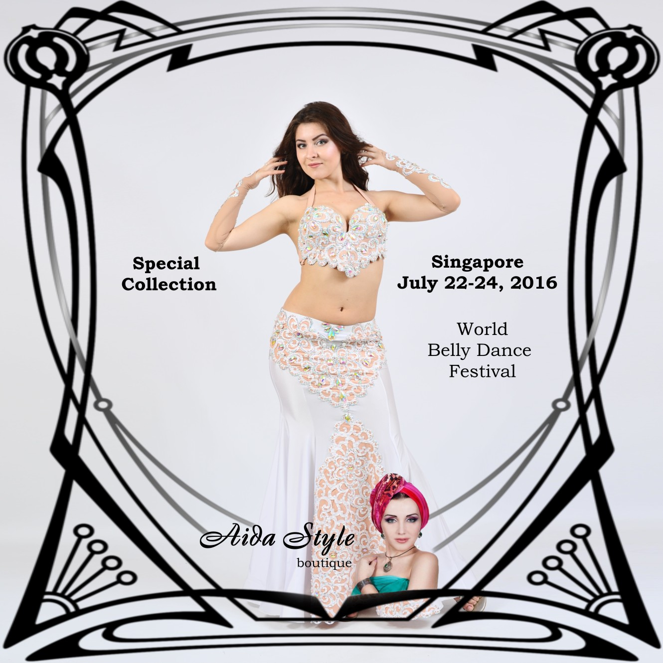 Aida Style in Singapore, World Belly Dance Festival 2016
