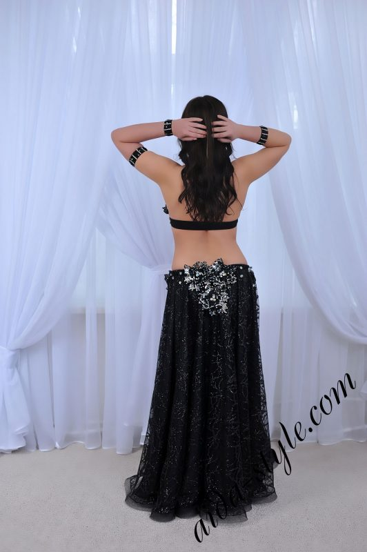 designer'sblack belly dance costume by Aida Style (71)