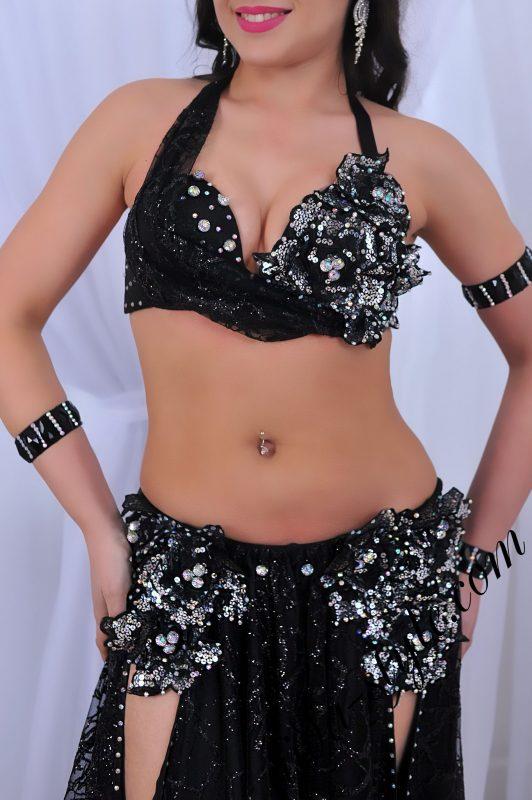 designer'sblack belly dance costume by Aida Style (71)