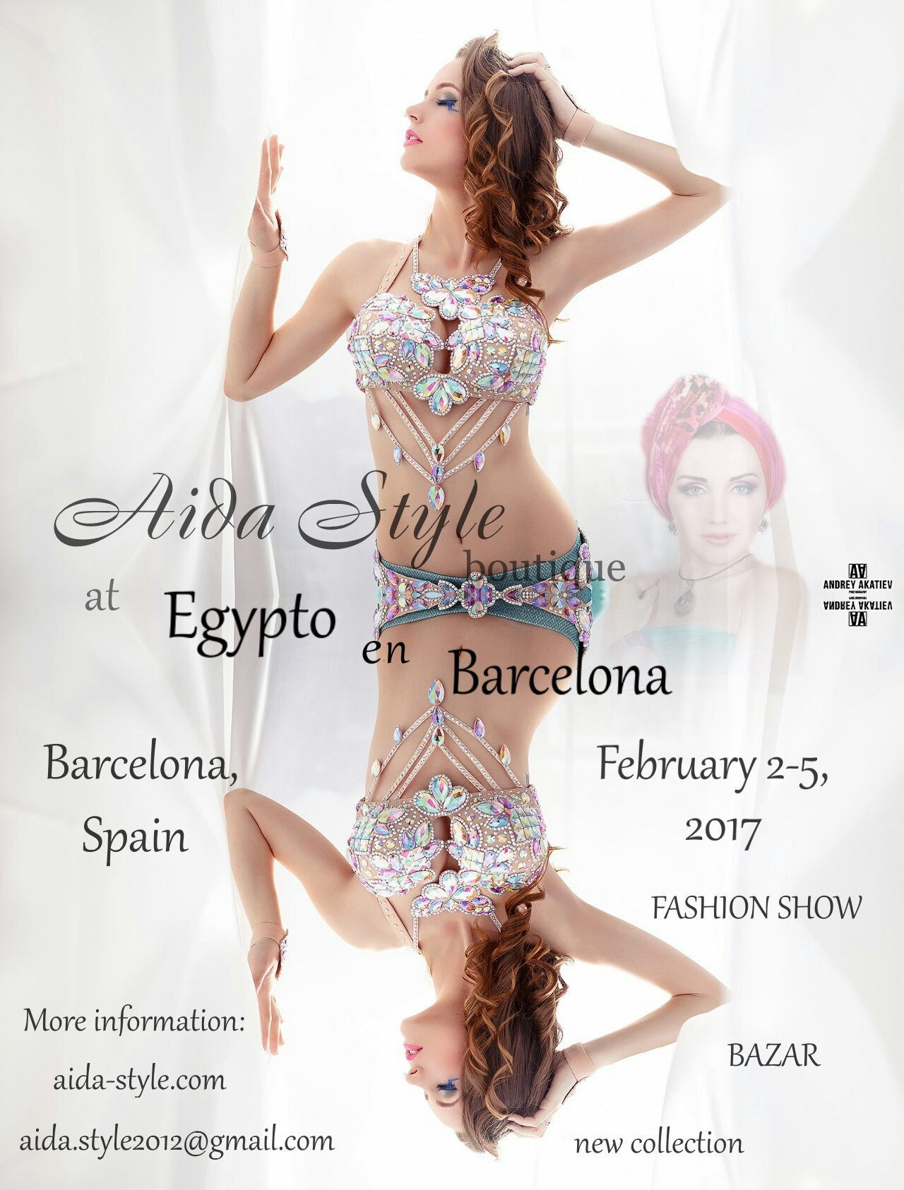 Aida Style costumes in Barcelona, at Egypto in Barcelona, Munique Neith belly dance festival