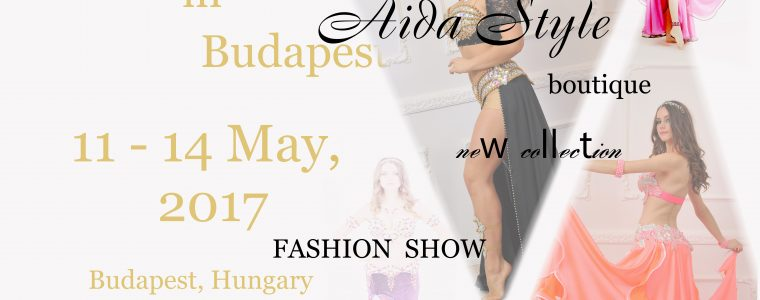 Aida Style boutique at Cairo! in Budapest at 11-14 of May, 2017