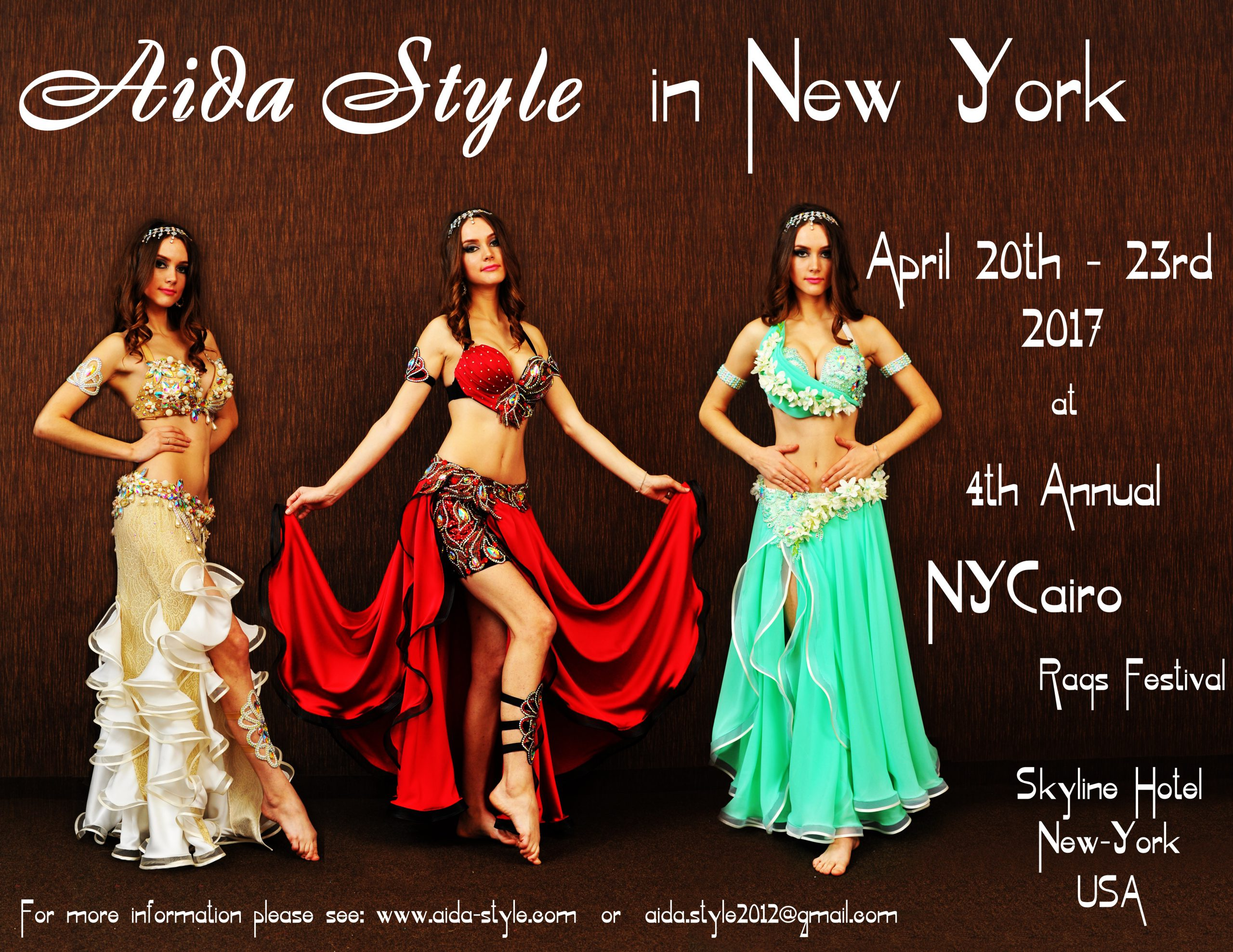 Aida Style at NYCairo 2017 in New York, USA