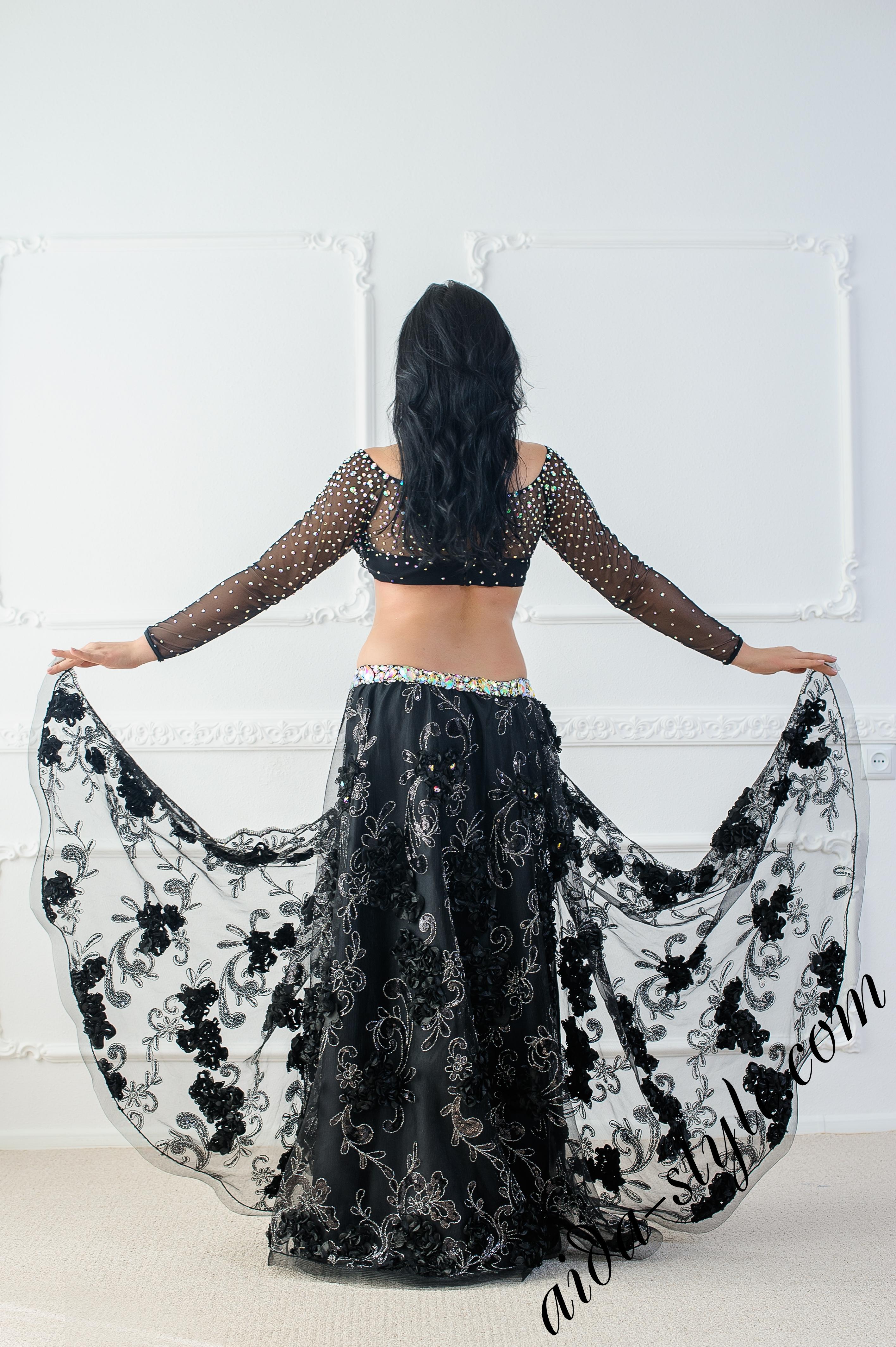Belly dance dress by Olga Aida – Aida Style