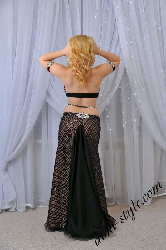 belly dance outfit by Olga Aida