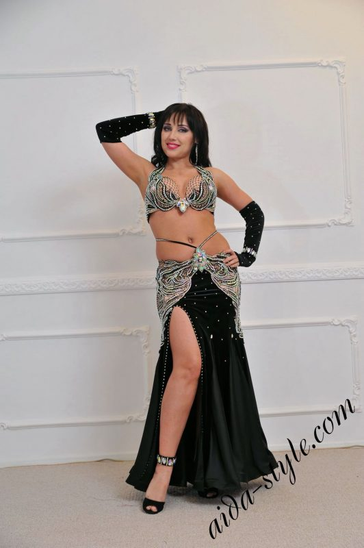 """""""Butterfly"""". Designer's belly dance wear by Olga Aida"""