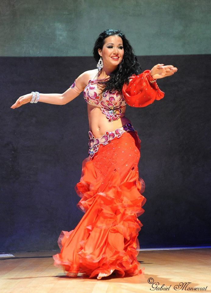 Marta Korzun in Aida Style costume