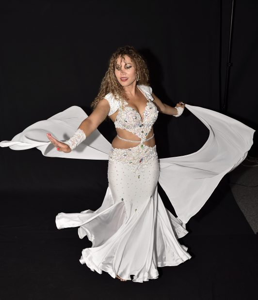Dyanka Dance in bellydance costume by Aida Style
