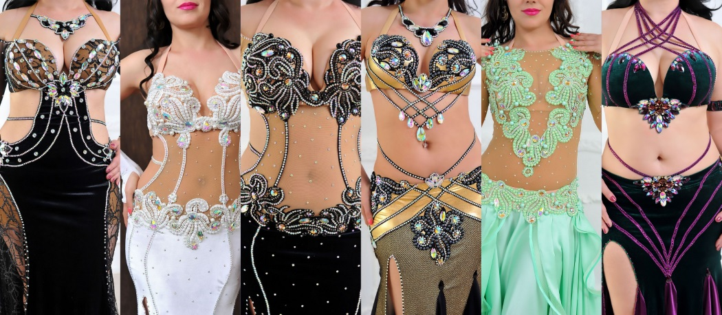 June 2017: Aida Style Modern Belly Dance Costumes