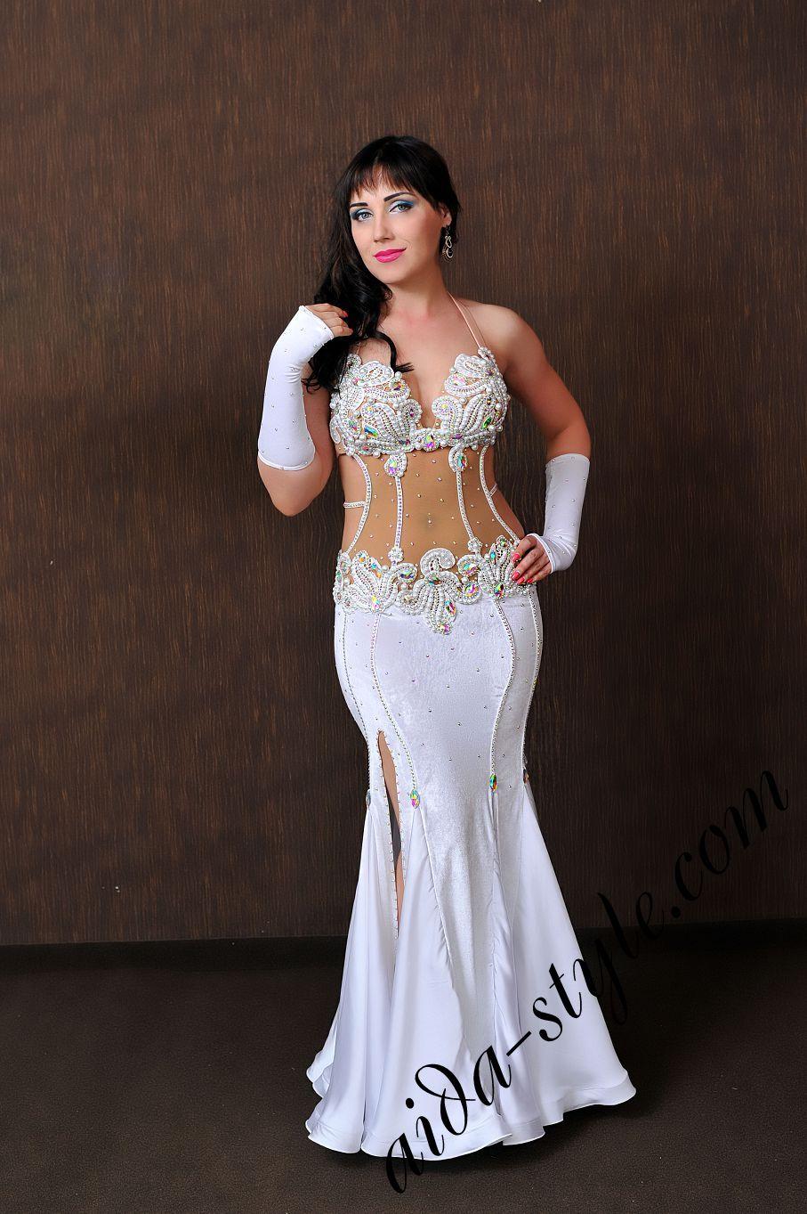 aida style oriental dress