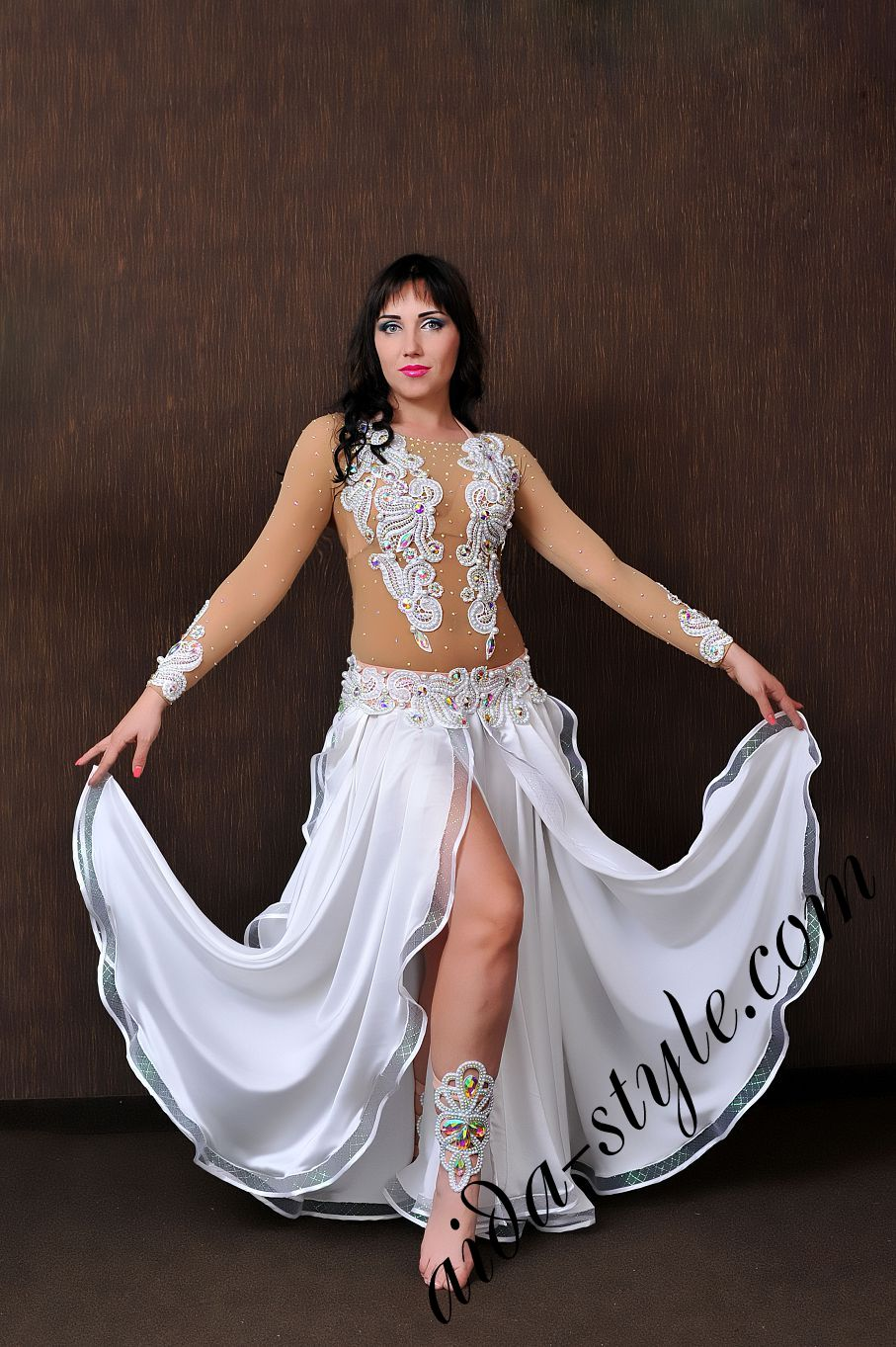 aida style oriental full coverage costume full coverage