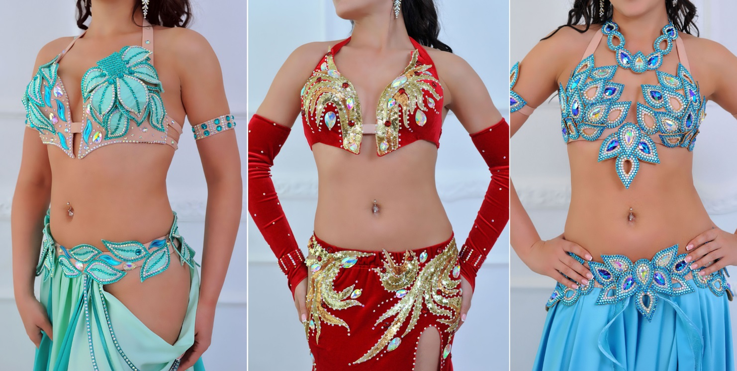 Aida's july 2017 belly dance collection. new, unique designs