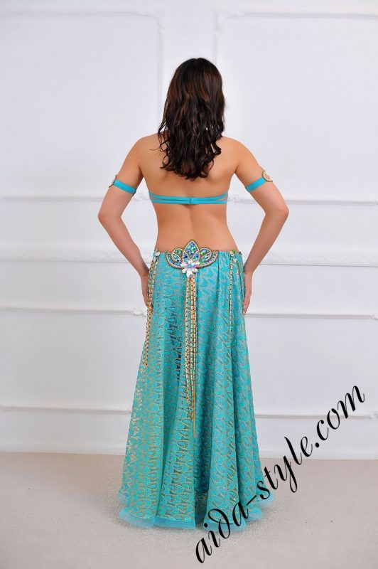light blue oriental costume to buy or for order (3)