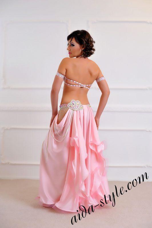 cute baby pink oriental arab costume by aida style (3)