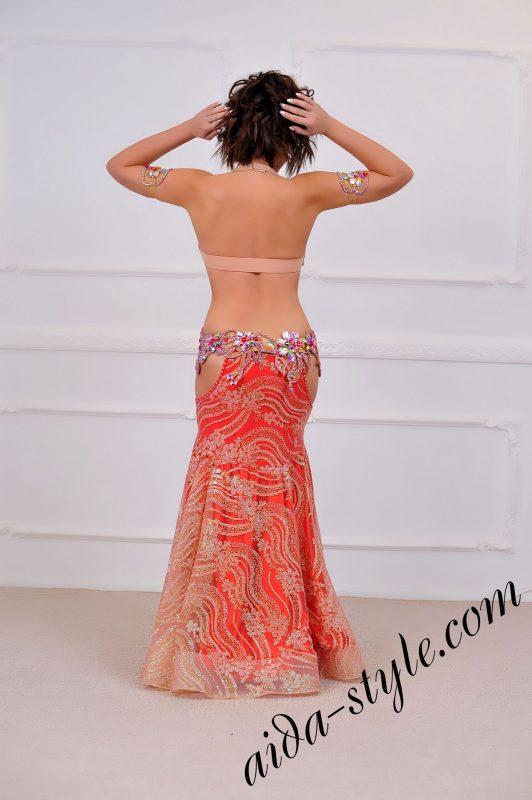 unique high end fashion designers belly dance costume (4)