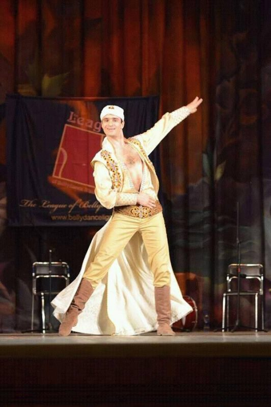 Dmitry Suminov in his custom made costume by Aida Style