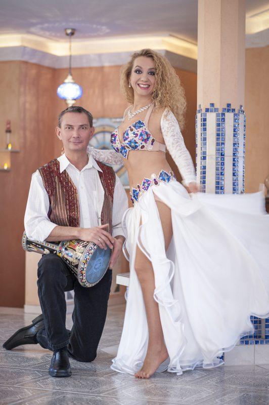 Leyla Jouvanna in her Aida Style costume