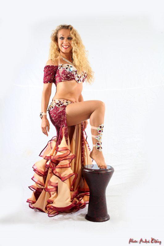 Leyla Jouvanna in her Aida Style costume (7)