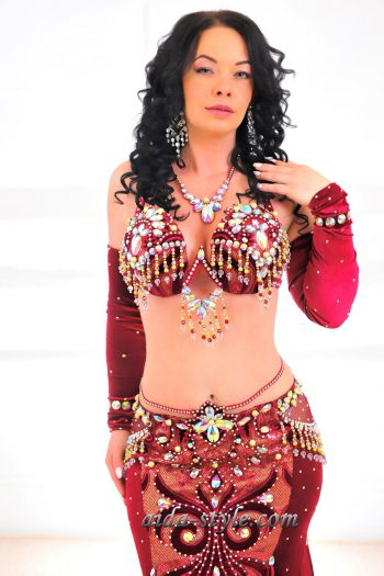 belly dance costumes professional