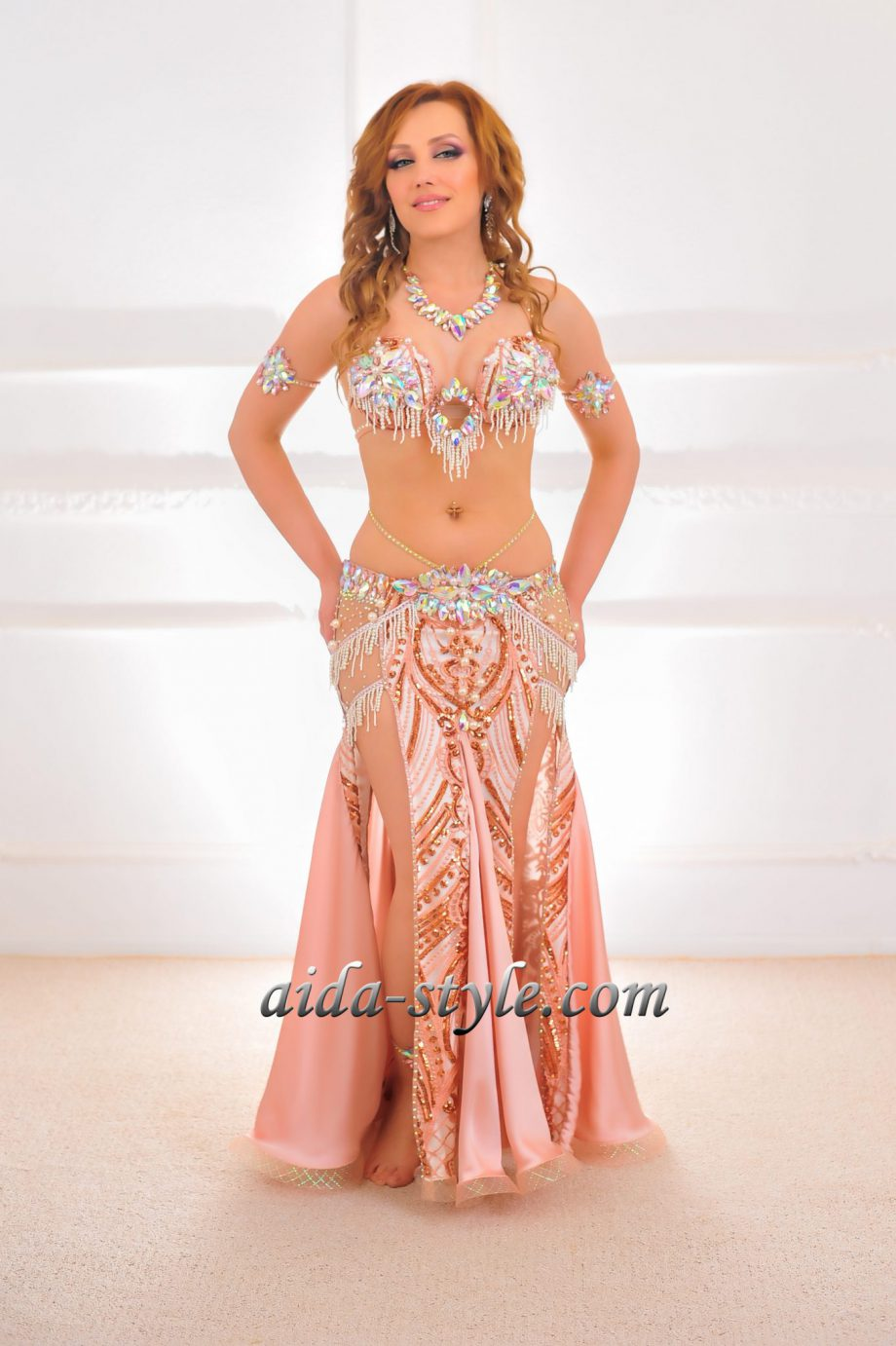 pink belly dancing costumes