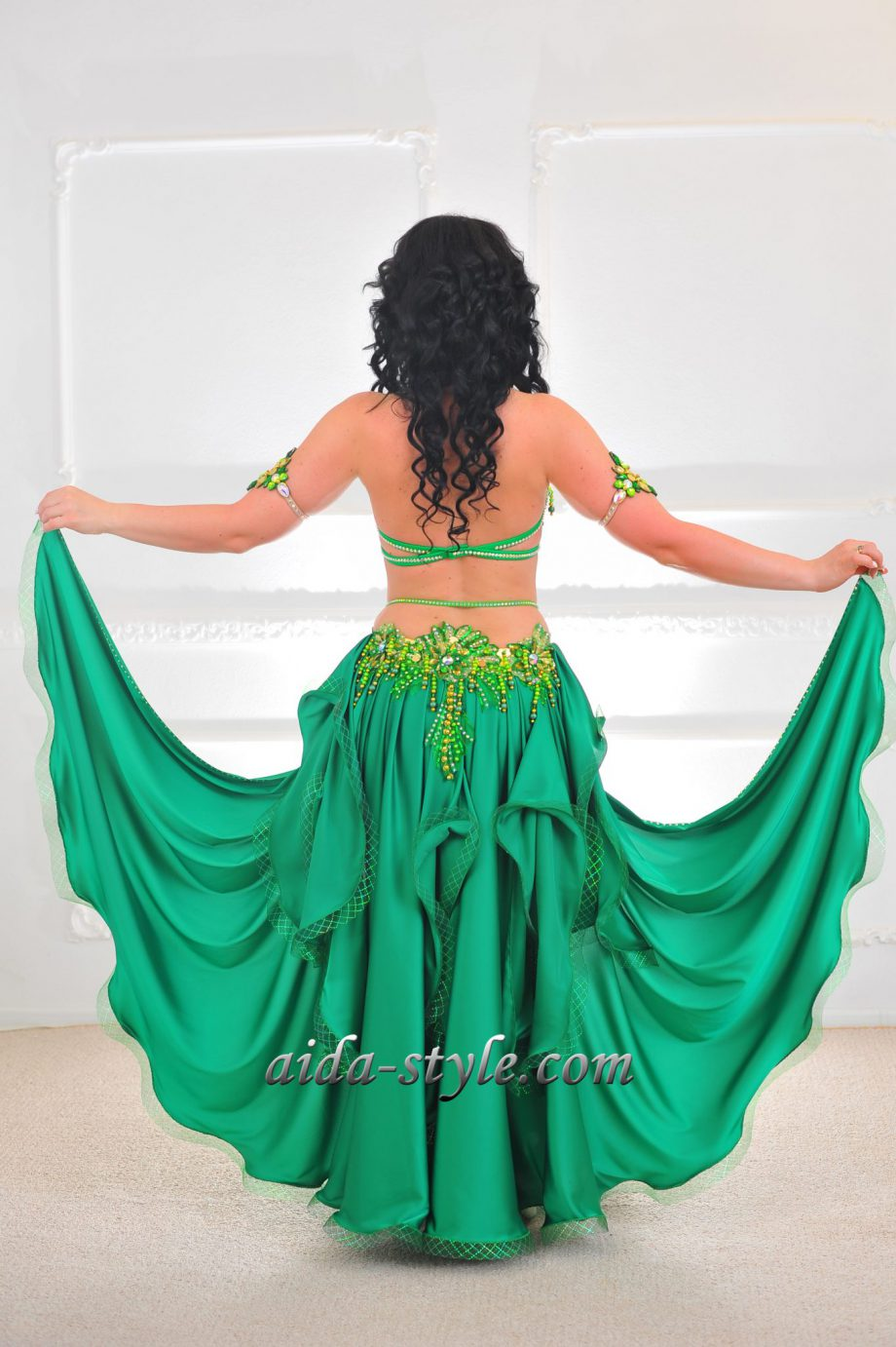 professional belly dancer costume
