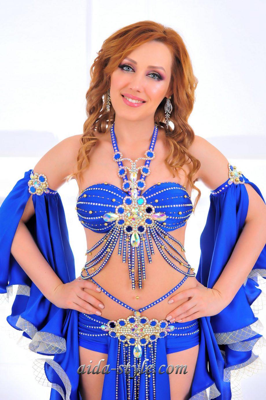 bleu belly dance costumes women