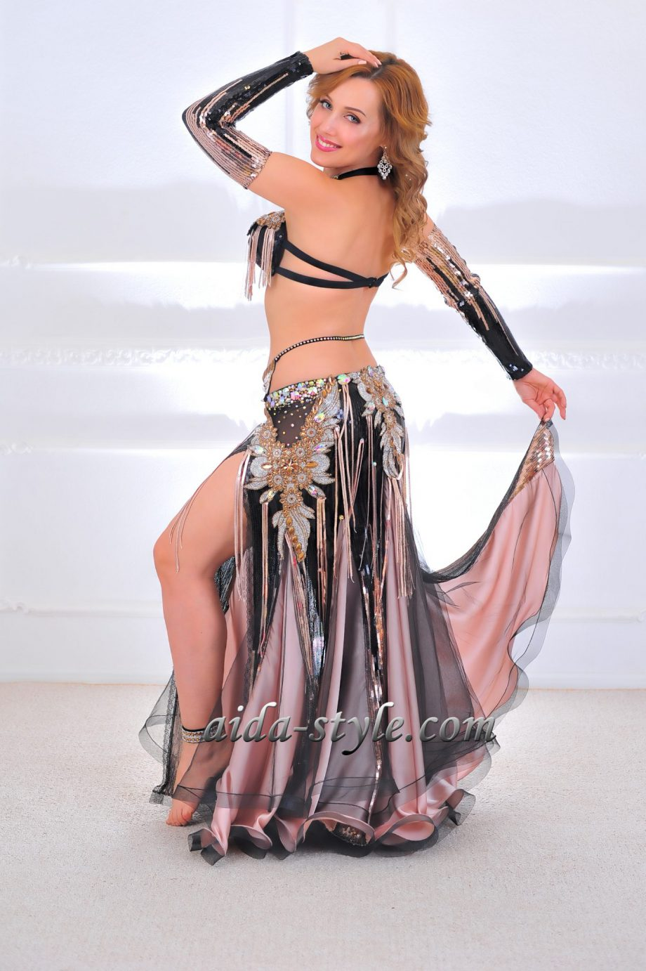 black belly dance costumes