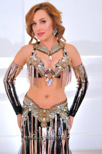 black belly dancing costumes