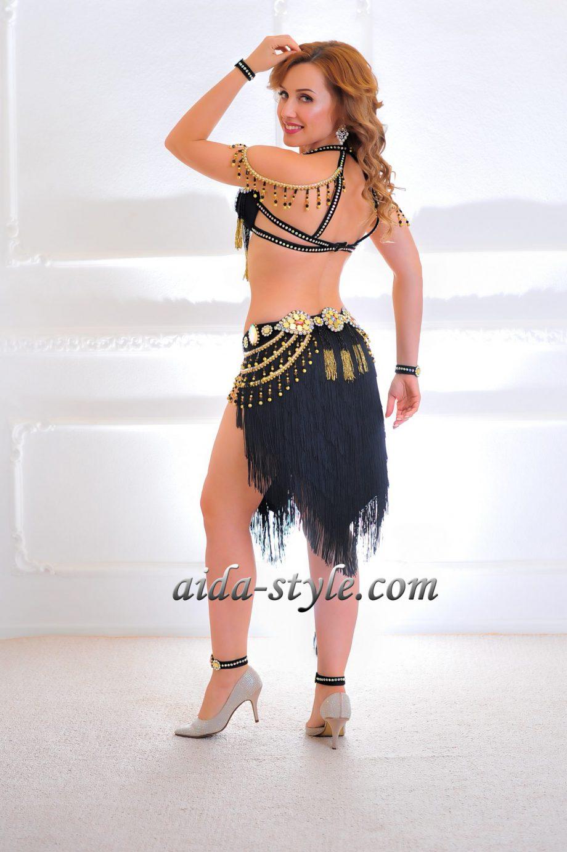 black belly dance costumes women