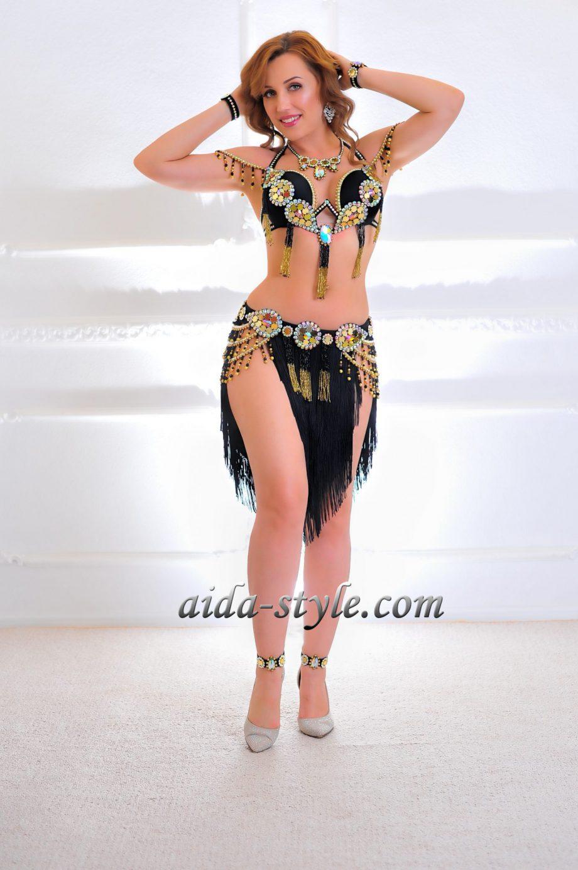 black belly dancer costumes