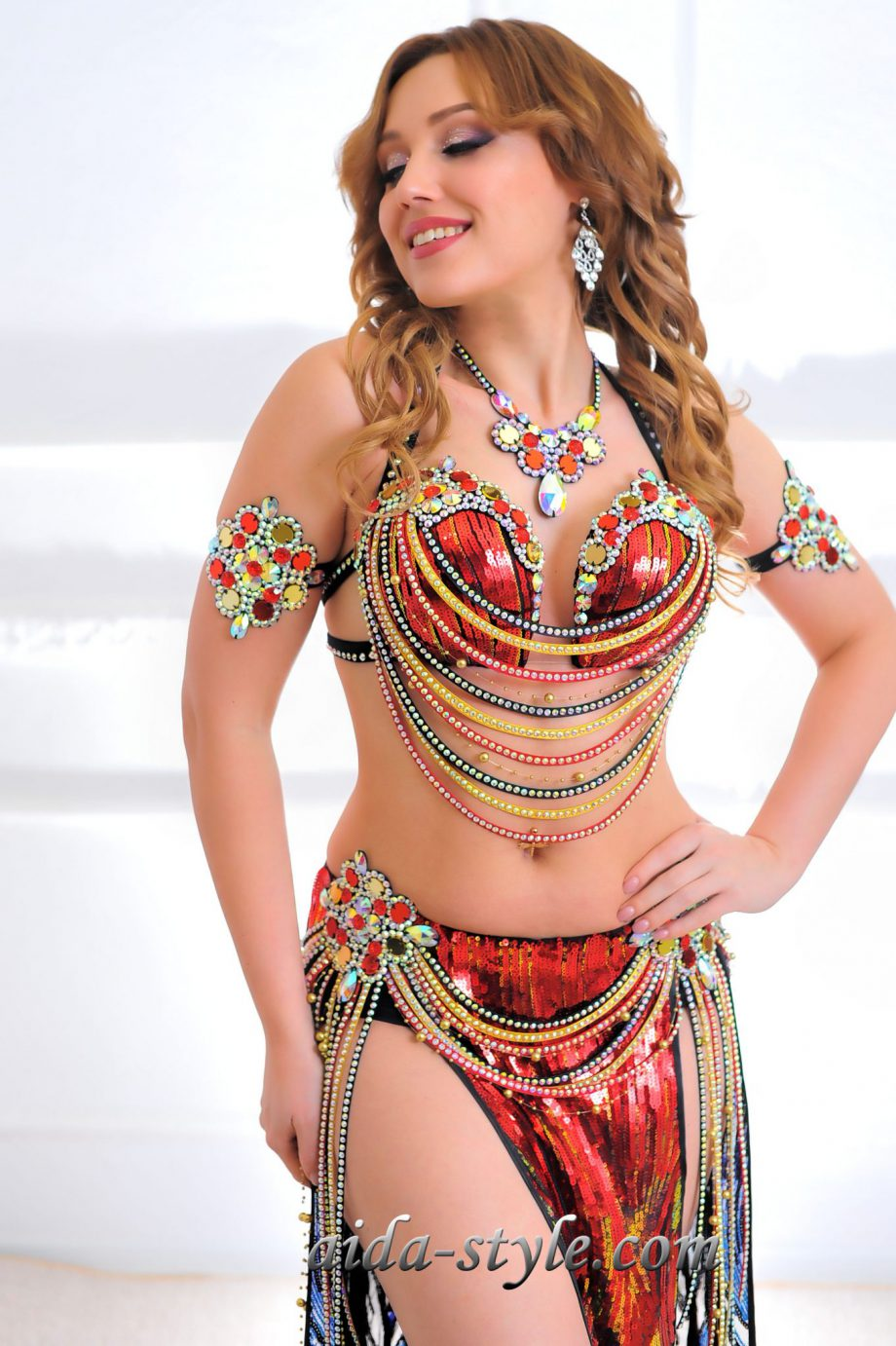 red belly dancers outfits