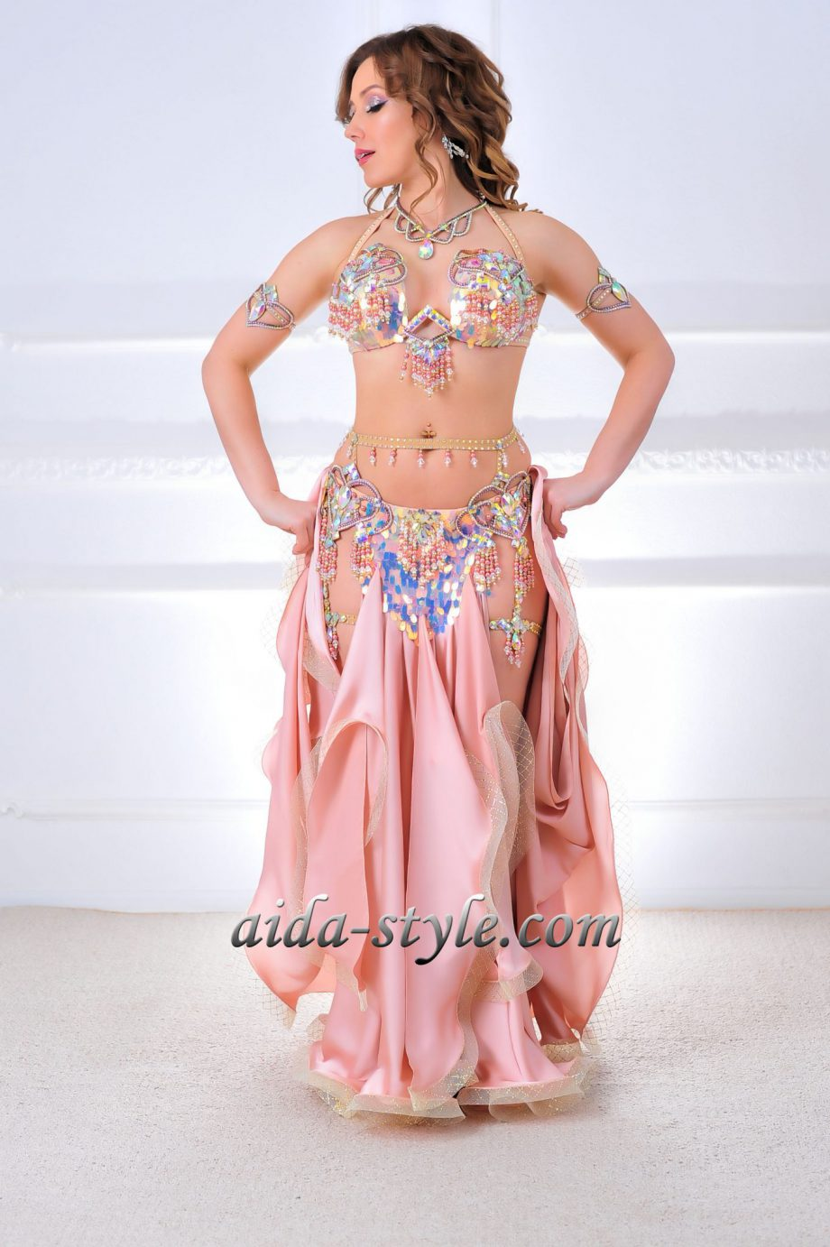 powder belly dancers costumes