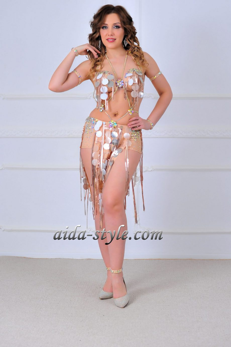 nude beautiful belly dancing outfits