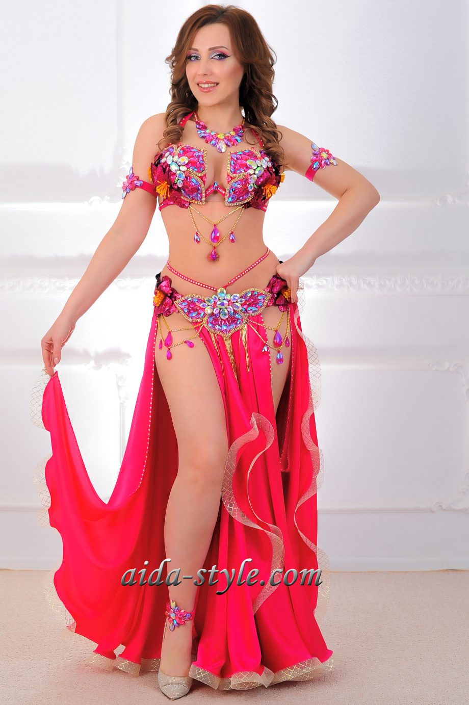 belly dance costumes pink