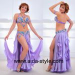 Belly dance outfit Lavender Butterfly