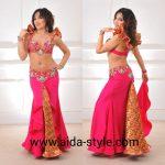Designers belly dance costume Firebird