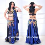 Origin belly dance dress with garters