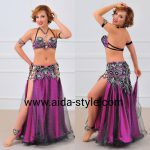 Rich belly dance outfit