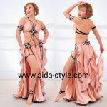 Sexy Belly dance costume with garters