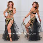 Sexy belly dance outfits with garters