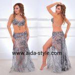 Unique belly dance costume Aida Style